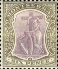 [Symbol of the Colony, King Edward VII, type B5]