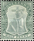 [Symbol of the Colony, King Edward VII - New Watermark, type B9]