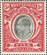 [Symbol of the Colony, King Edward VII, Typ C]