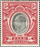 [Symbol of the Colony, King Edward VII - New Watermark, Typ C1]