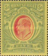 [Symbol of the Colony, King Edward VII - New Colours, type C2]