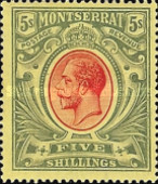 [King George V - Coated Paper, type D]