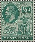 [King George V, Symbol of the Colony, Typ E]