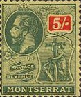 [King George V, Symbol of the Colony, Typ E11]