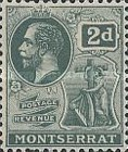 [King George V, Symbol of the Colony, Typ E3]