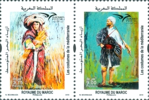[EUROMED Issue - Traditional Costumes, Typ ]