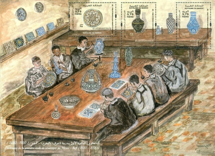 [The 100th Anniversary of the Ceramic School of Safi, type ]