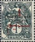 """[French Post in Morocco Postage Stamps Overprinted """"PROTECTORAT FRANCAIS"""", type A17]"""