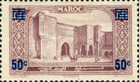 [Monuments - Issues of 1923 Surcharged, type CA]