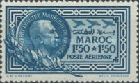 [Airmail - Monument for Marshal Lyautey, type DL]
