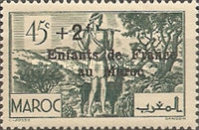 [Charity Stamps Overprinted