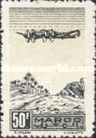 [Airmail - Plane on Palm Grove, type GS]