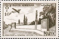 [Airmail - General Leclerc - Not Issued, type MF]