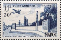 [Airmail - General Leclerc - Not Issued, type MH]