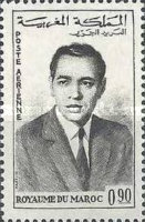 [Airmail - King Hassan II, type RB]