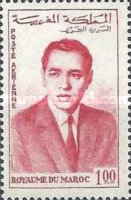 [Airmail - King Hassan II, type RB1]