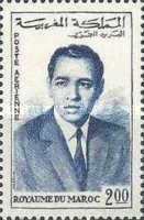 [Airmail - King Hassan II, type RB2]