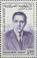 [Airmail - King Hassan II, type RB4]