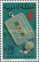 [Red Crescent - Moroccan Jewellery, type ZR]