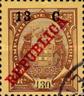 [Issue of 1911 Surcharged, Typ K10]