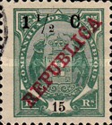 [Issue of 1911 Surcharged, Typ K3]
