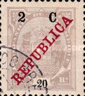 [Issue of 1911 Surcharged, Typ K4]