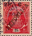 [Issue of 1911 Surcharged, Typ K5]