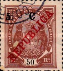 [Issue of 1911 Surcharged, Typ K6]