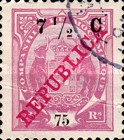 [Issue of 1911 Surcharged, Typ K7]