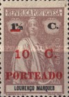 [Ceres - Lourenco Marques Postage Stamps of 1914 Surcharged and Overprinted