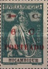 [Ceres - Mozambique Postage Stamps of 1913 & 1921 Surcharged and Overprinted