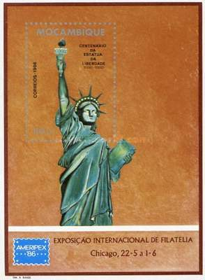 [The 100th Anniversary of the Statue of Liberty, New York, Typ ]