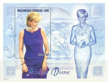[The 1st Anniversary of the Death of Diana, Princess of Wales, 1961-1997, Typ ]