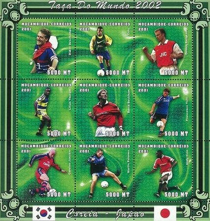 [Football World Cup - South Korea and Japan (2002), Typ ]