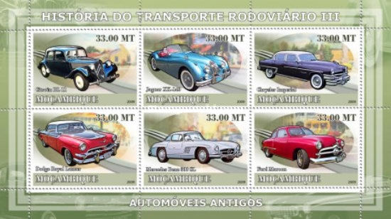 [History of Road Transport - Ancient Cars, Typ ]