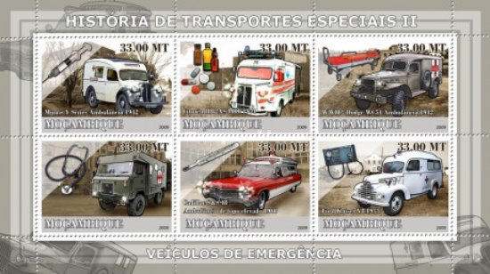 [History of Special Transport - Ambulance Cars, Typ ]