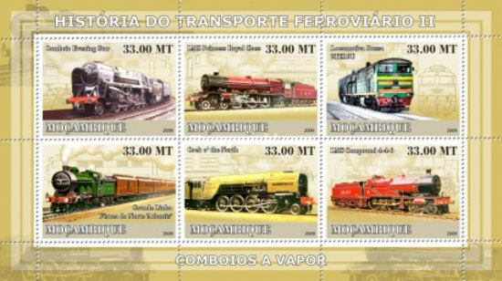 [History of Trains - Steam Trains, Typ ]