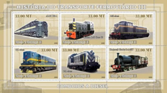 [History of Trains - Diesel Trains, Typ ]