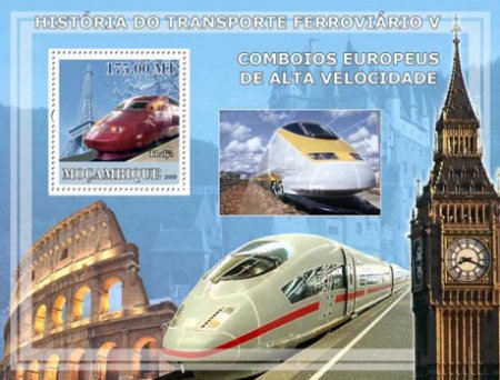 [History of Trains - European High Speed Trains, Typ ]