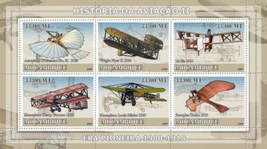 [History of Aviation - Era of 1900-1918, Typ ]