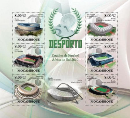 [Sports - Football Stadiums of South Africa 2010, Typ ]