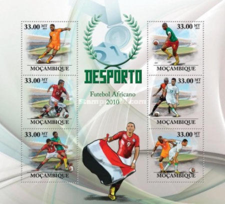 [Sports - African Football Players 2010, type ]