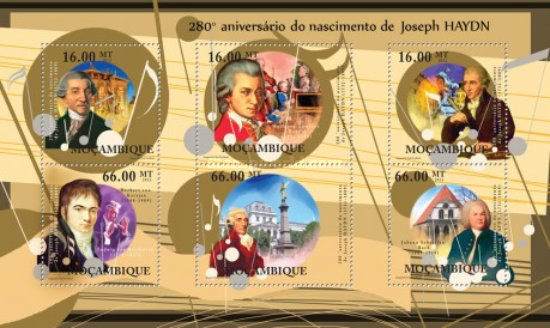 [The 280th Anniversary of the Birth of Joseph Haydn, Typ ]