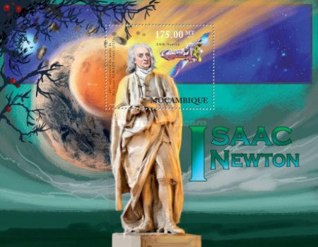 [The 285th Anniversary of the Death of Isaac Newton, 1643-1727, Typ ]