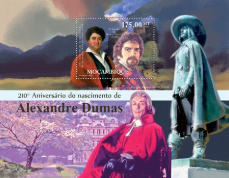 [The 210th Anniversary of the Birth of Alexander Dumas, 1802-1870, Typ ]