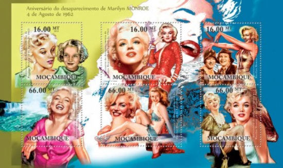 [The Anniversary of the Disappearance of Marilyn Monroe, 4th August 1962, Typ ]