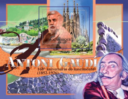 [The 160th Anniversary of the Birth of Antoni Gaudi, 1852-1926, Typ ]