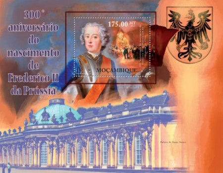 [The 300th Anniversary of the Birth of Frederick II of Prussia, Typ ]