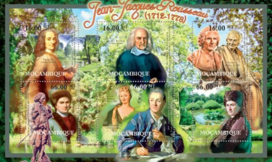 [The 300th Anniversary of the Birth of Jean-Jacques Rousseau, 1712-1778, Typ ]