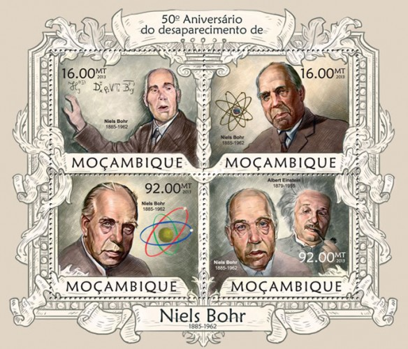 [The 50th Anniversary (2012) of the Death of Niels Bohr, 1885-1962, Typ ]